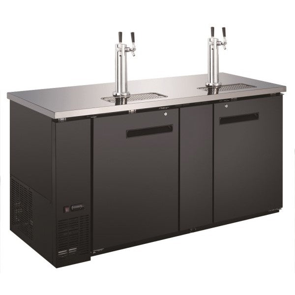 "Adcraft USBD-6928/2 Dual Tap Towers 69"" Beer Dispenser FREE SHIPPING!"