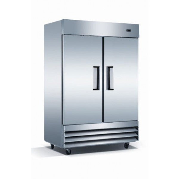 Adcraft USFZ-2D Two Solid Door Reach in Freezer FREE SHIPPING!