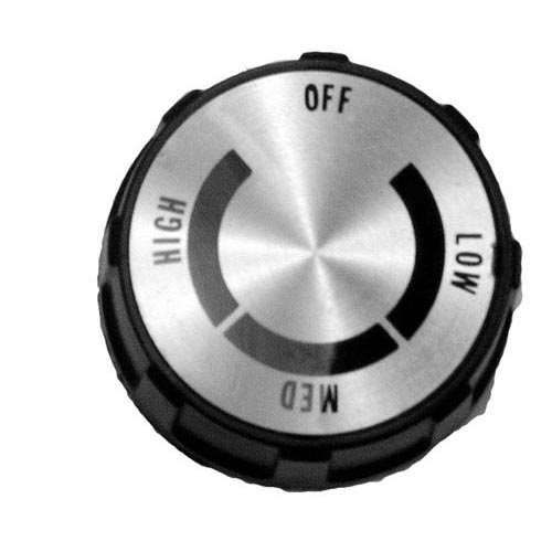 Knob 2 D, Off-Low-Med-High For Star Y9-70701-10