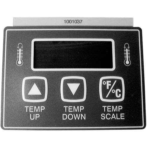 Label, Temp Control For Roundup 1001037
