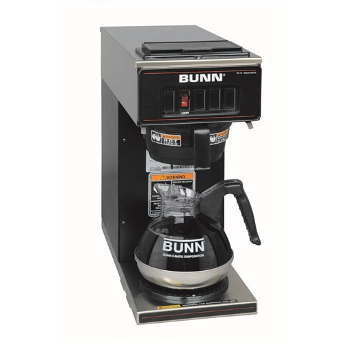 Black Bunn Pourover Coffee Brewer VP17-1,120V, 13300.0011
