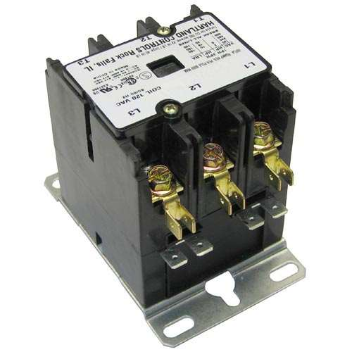 Contactor 3P 40/50A 120V For Market Forge 10-5944