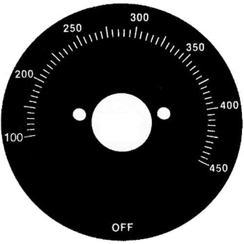 Dial, Control For Vulcan 824321