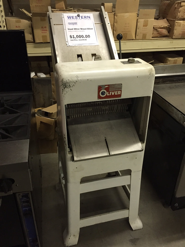 Used Oliver Bread Slicer