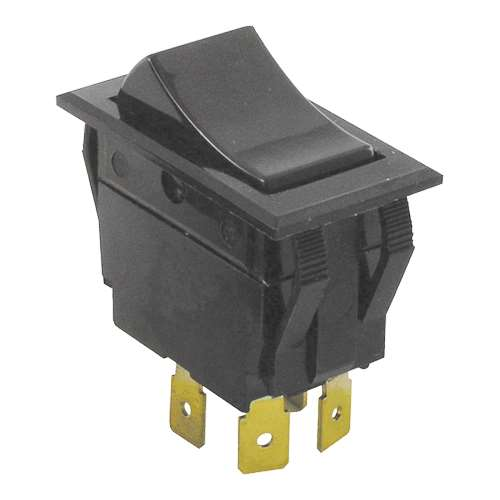 Rocker Switch 7/8X1-1/2 Dpst For Crescor 0808-116K
