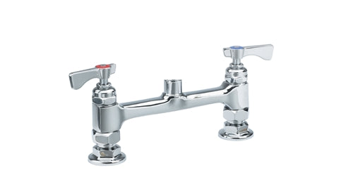 "15-8XXL - Royal Series 8"" Center Raised Deck Mount Faucet Body, Low Lead"