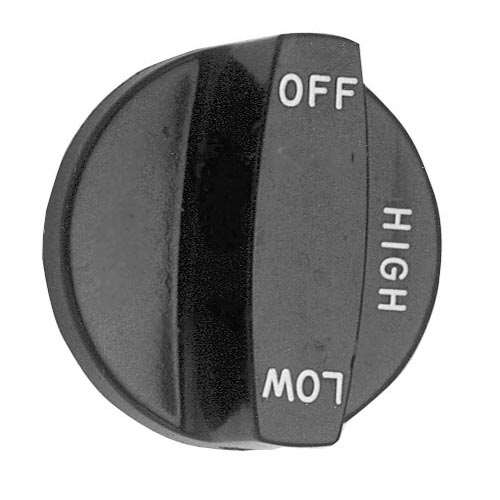 Knob 2 D, Off-High-Low For Southbend 1073495