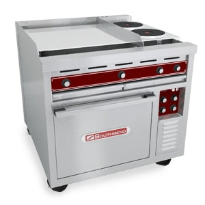 "Southbend 36"" Electric W/ (1) 24"" Griddle and (2) Hotplates W/ Standard Oven SE36"