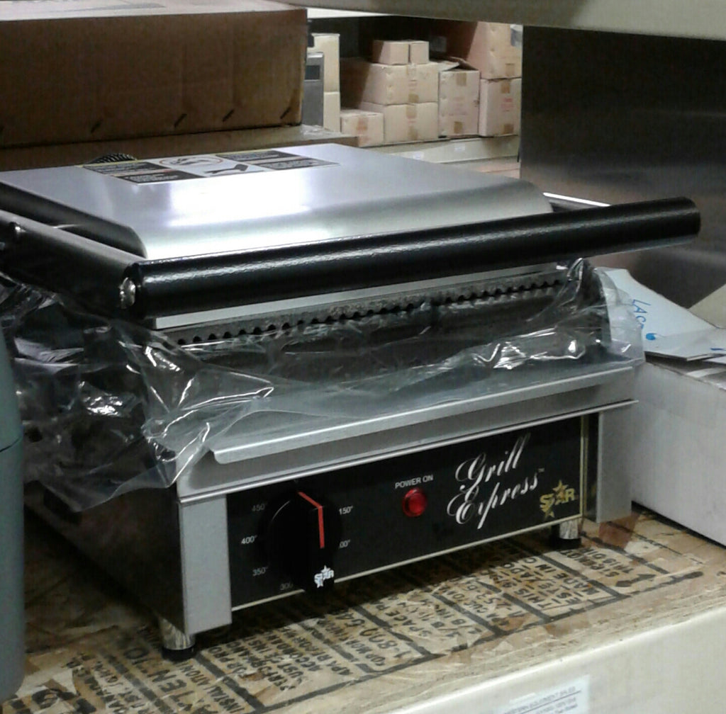 "New Star 10"" Two Sided Grill"