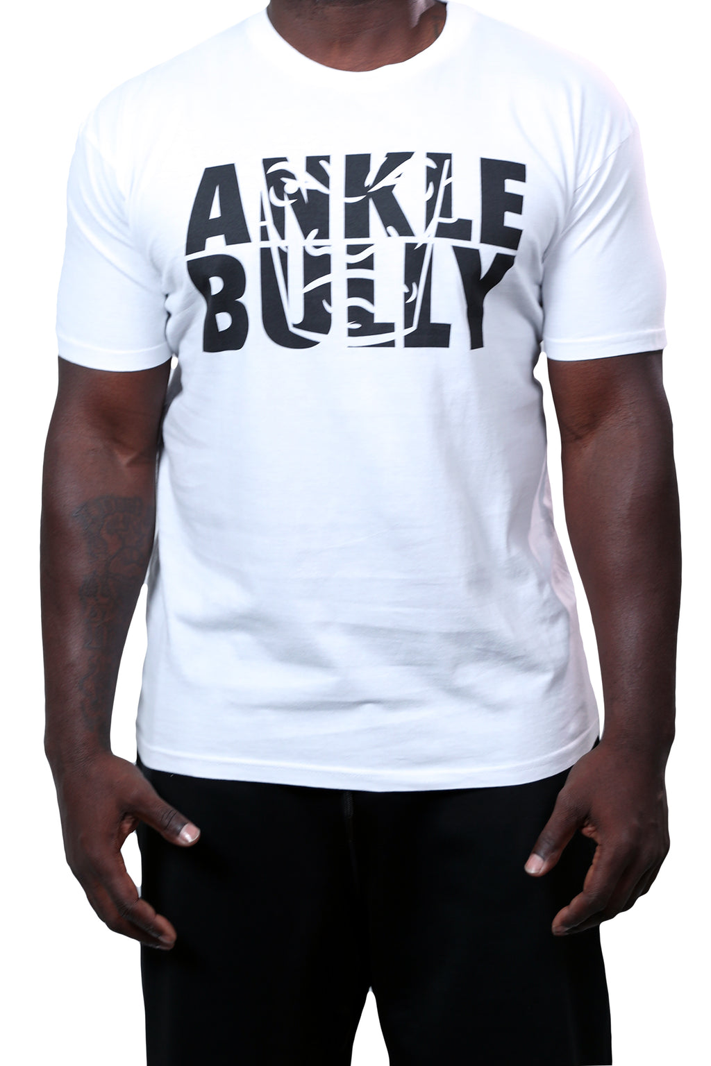 Ankle Bully Tee White