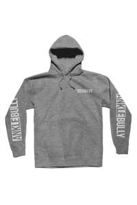 Ankle Bully Heather Grey Hoodie