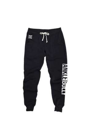 Ankle Bully Black Joggers