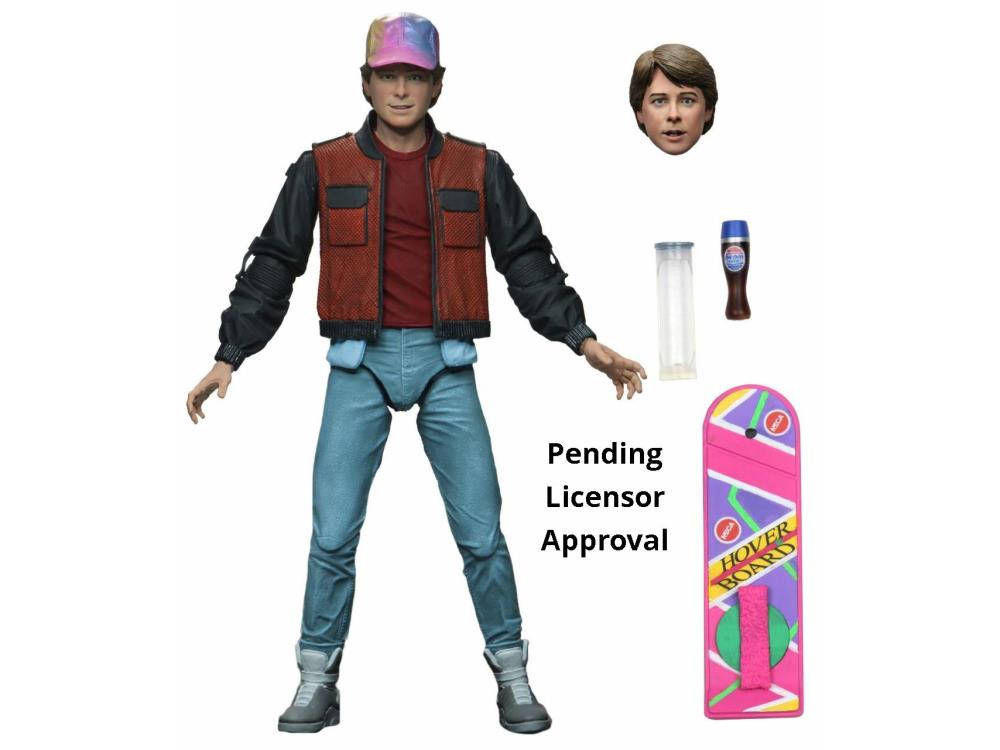 PreOrder Back to the Future Part 2 Ultimate Marty Figure