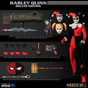 MEZCO ONE 12 HARLEY QUINN DELUXE EDITION