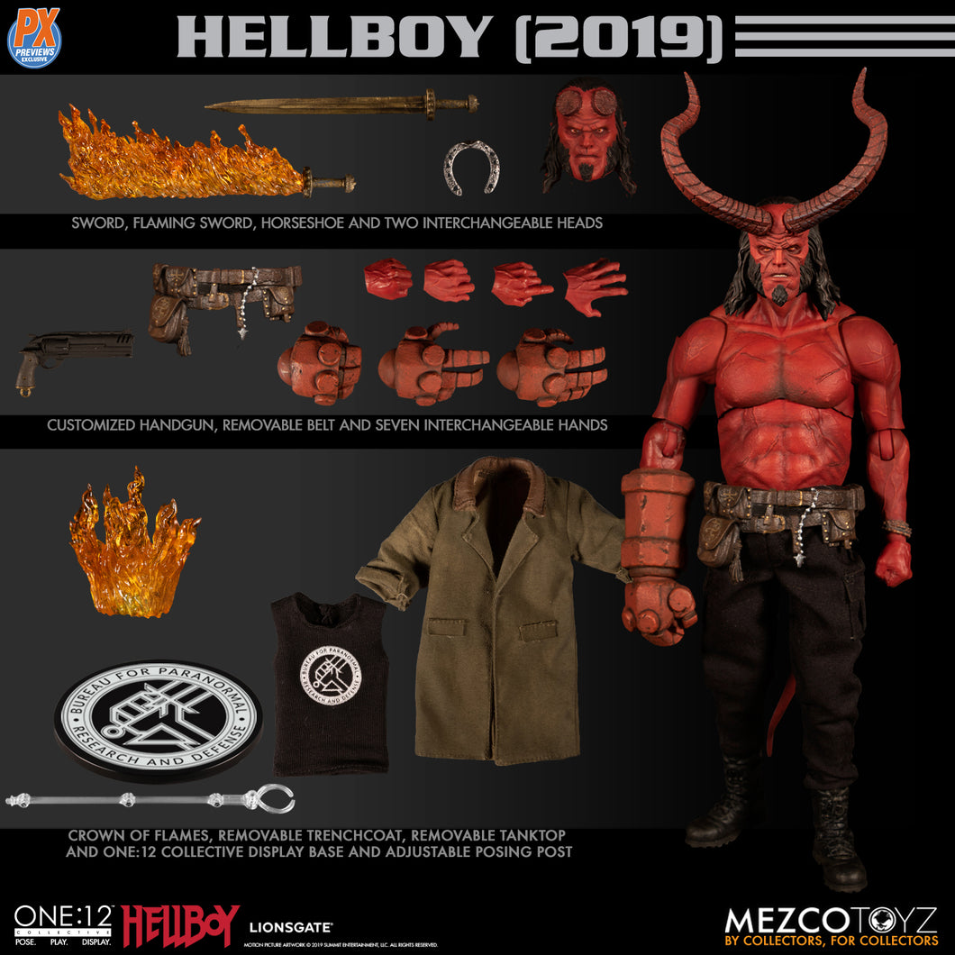 PreOrder Mezco ONE-12 COLLECTIVE PX HELLBOY 2019 ANUNG UN RAMA EDITION