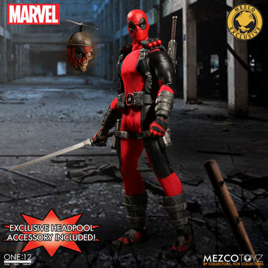 Mezco One:12 Collective Figures - Marvel - Deadpool EXCLUSIVE PRE OWNED