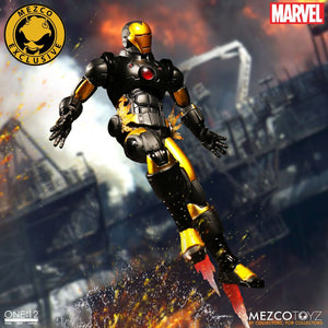 Mezco One:12 Collective Figure Marvel Iron Man: Armor Model 42 Edition LACC Exclusive PRE OWNED