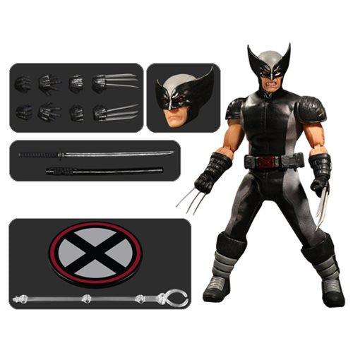 Mezco One:12 X-Force Wolverine Action Figure - Previews Exclusive