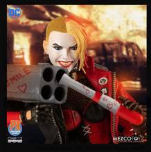 PRE ORDER MEZCO PX HARLEY QUINN Playing for Keeps Edition