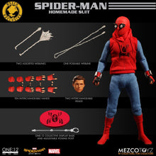 Mezco One 12 Collective Spider-Man: Homecoming - Homemade Suit Edition MDX