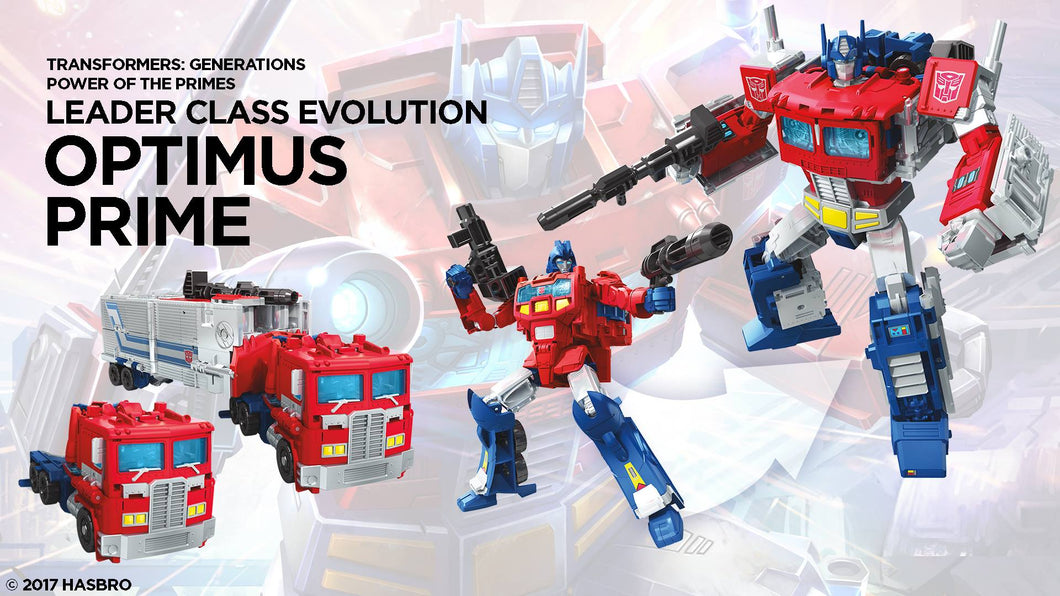 Transformers Generations Power of the Primes Leader Wave 1 Optimus Prime