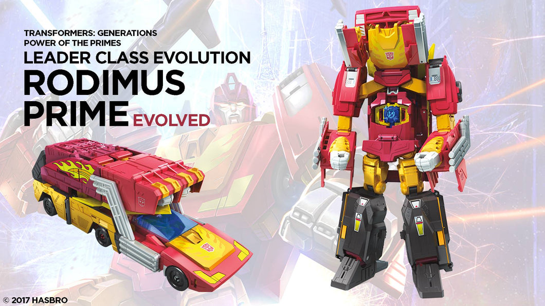 Transformers Generations Power of the Primes Leader Wave 1 Rodimus Prime