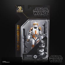 "Pre Order Star Wars: The Black Series 6"" Archive Collection Commander Cody"