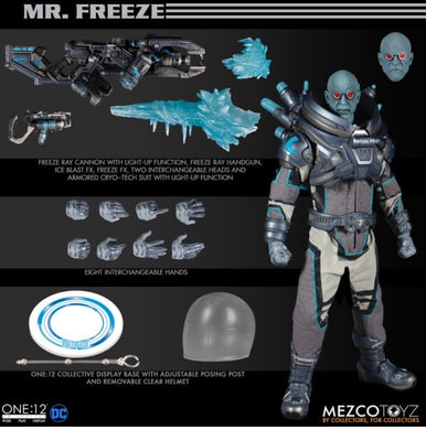 PreOrder MEZCO ONE 12 Mr Freeze