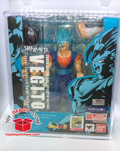 T6 ACRYLIC CASE for Dragon Ball Z, SDCC Exclusive VEGITO Bandai S.H.Figuarts Action Figure