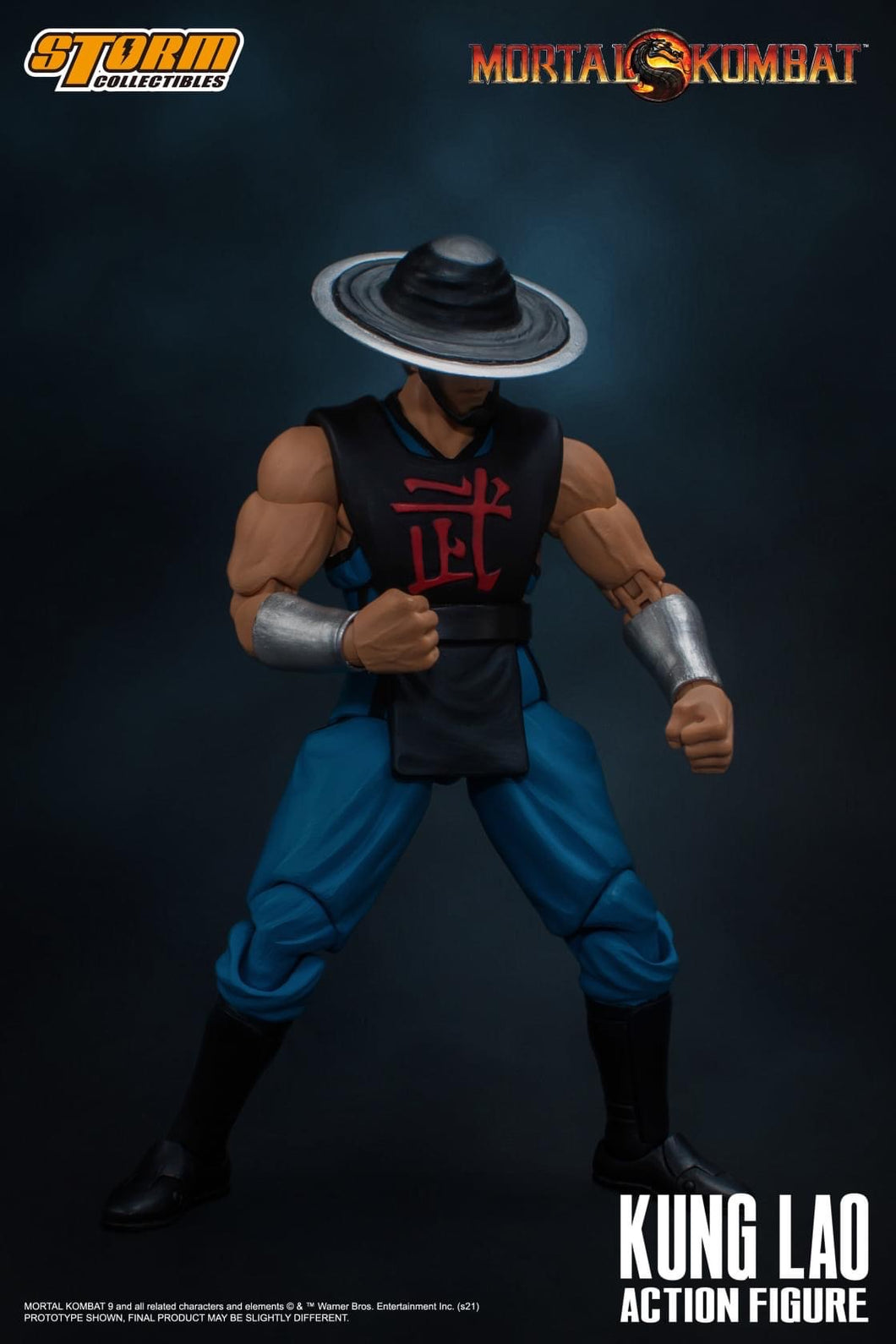 PreOrder Storm Collectibles Mortal Kombat Kung Lao 1/12 Scale Figure DC