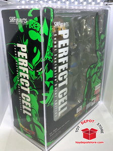 ACRYLIC CASE for Dragon Ball Z, SDCC Exclusive PERFECT CELL Bandai S.H.Figuarts Action Figure