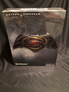 Mezco One 12 Collective Dawn of Justice BATMAN PRE OWNED