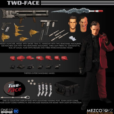 PreOrder MEZCO ONE 12 Two Face