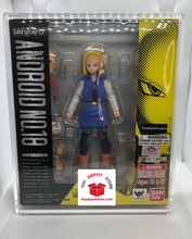T4 ACRYLIC CASE for Dragon Ball Z, Android 18 Bandai S.H.Figuarts Action Figure