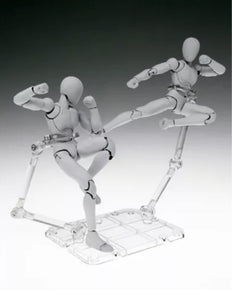 SH Figuarts Authentic Tamashii Stage Act 4 Set of 2 for Humanoid (Clear)