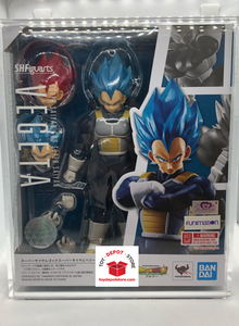 T4 ACRYLIC CASE for Dragon Ball Z, Super Saiyan God Vegeta Bandai S.H.Figuarts Action Figure