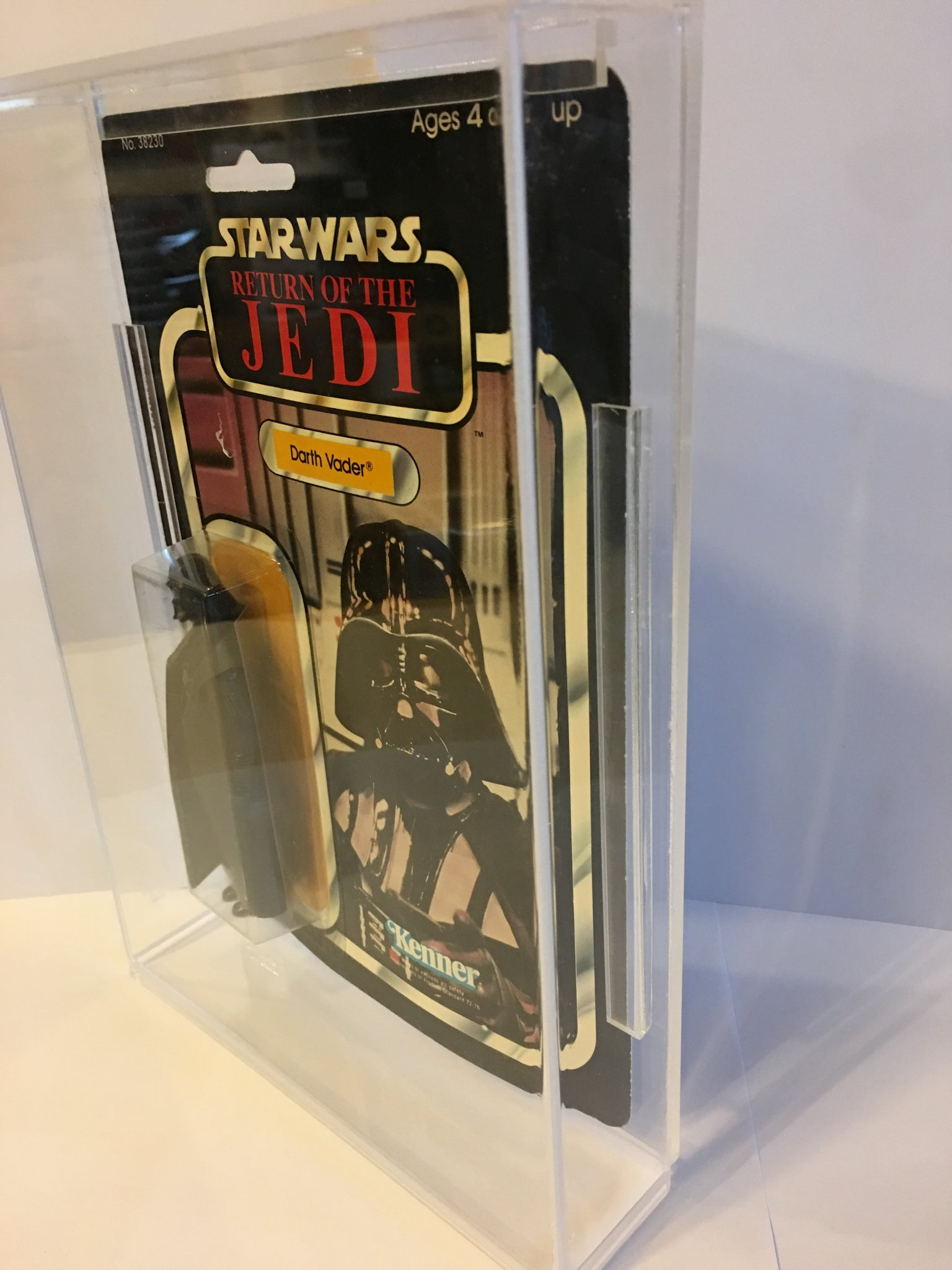 Star Wars Carded A Acrylic Display Case