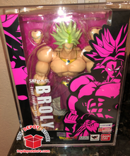 ACRYLIC CASE for Dragon Ball Z, SDCC Exclusive BROLY Bandai S.H.Figuarts Action Figure