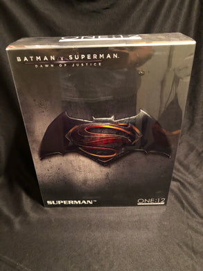 Mezco One 12 Collective Dawn of Justice SUPERMAN PRE OWNED