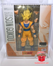 ACRYLIC CASE for Dragon Ball Z, Super Saiyan Son Goku Bandai S.H.Figuarts Action Figure