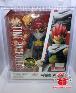 ACRYLIC CASE for Dragon Ball Z, TIME PATROLLER XENOVERSE Bandai S.H.Figuarts Action Figure