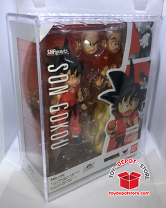 T6 ACRYLIC CASE for Dragon Ball Z, Kid Gokou Goku Bandai S.H.Figuarts Action Figure