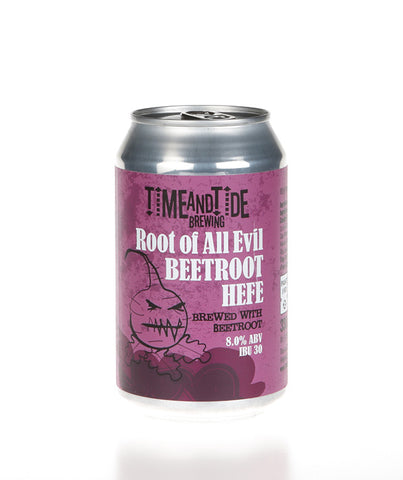 Root of All Evil Beetroot Hefeweizen - ABV 8%