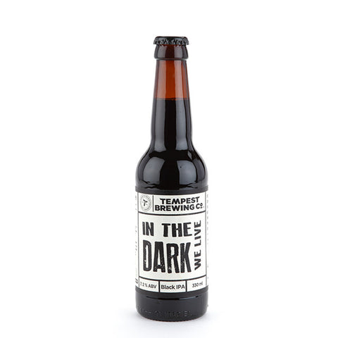 In the Dark we Live Black IPA - ABV 7.2%
