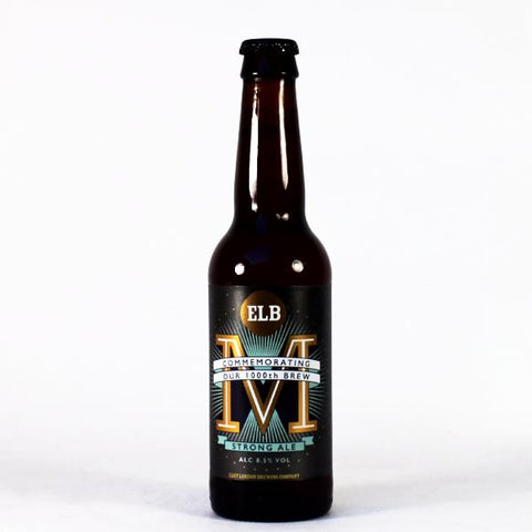 M Strong Ale - ABV 8.5%