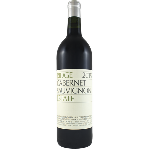 2015 Ridge Cabernet Sauvignon Estate 750ml
