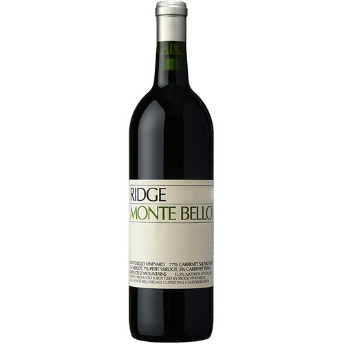2015 Ridge Monte Bello 750ml