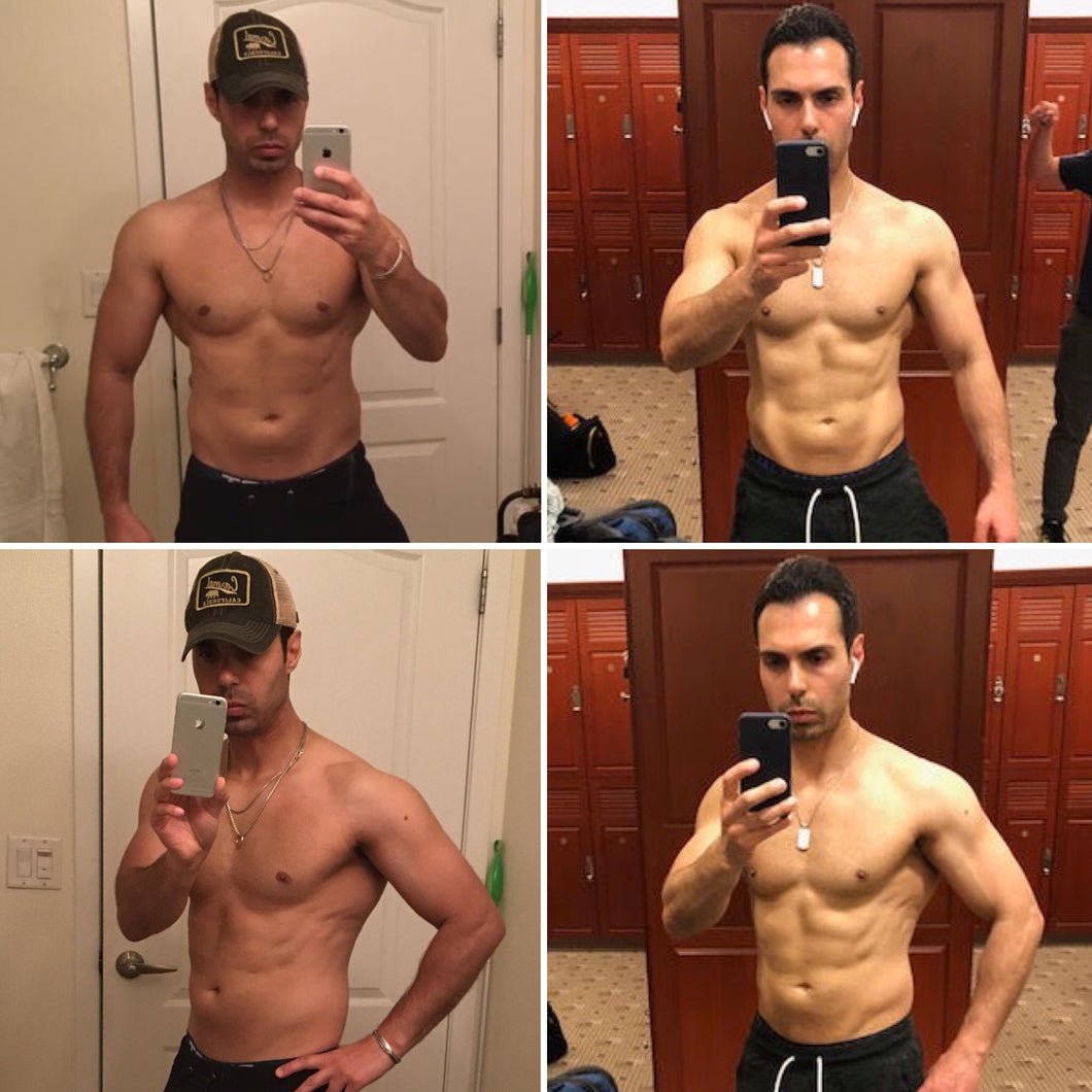 Justin Gonzales - 8 Week Diet/Training - CUSTOMIZED