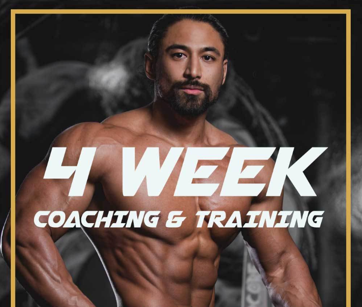 4 Weeks Customized Diet & Training