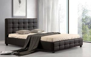 Leather Look Bed Frame